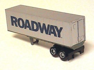 Tyco Slot Car US 1 Trucking Road Way Freight Trailer