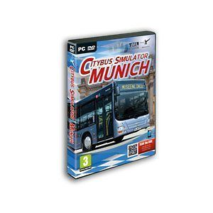City Bus Simulator Munich (PC DVD) NEW SEALED