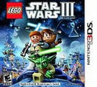 LEGO Star Wars III The Clone Wars Nintendo 3DS Video Game