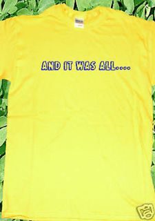 Coldplay Chris Martin Yellow T Shirt Less obvious range