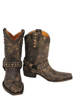 OLD GRINGO Hanna Stud Black Womens Cowboy Boots L1086 1 Orig.$395