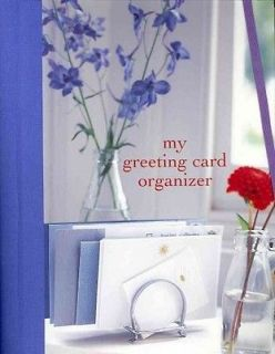 MY GREETING CARD ORGANIZER   RYLAND PETERS & SMALL (HARDCOVER) NEW
