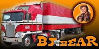 BJ and the Bear custom semi truck Banner MUST SEE!