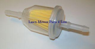Universal In Line Fuel Filter Fits 1/4 & 5/16 Hose Fits Kohler, Toro