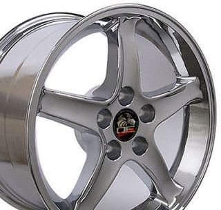 17 Rim Fits Mustang® Cobra Wheel Chrome 17x10.5
