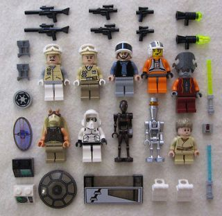STAR WARS MINIFIG LOT figures people jedi minifigures guys toy clone