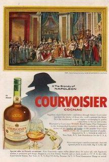 1955 Courvoisier VSOP Cognac Brandy~Coronat ion Napoleon Jacques Louis