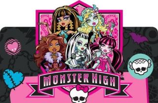 MONSTER HIGH* ****FABRIC/T S HIRT IRON ON TRANSFER
