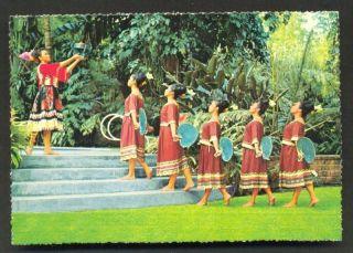 Inahaw Dugso Dance Costume Mindanao Philippines 70s