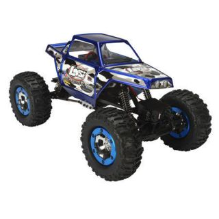 Losi LOSB0222 Blue 1/18 Mini Rock Crawler 4wd RTR with Radio New