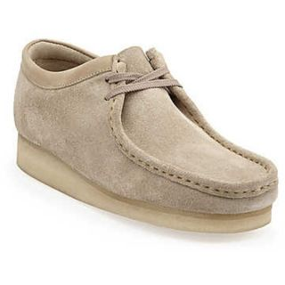 Mens Clarks Wallabee Casual Shoes Sand Suede *New In Box*