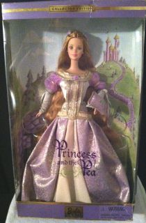 2000 Collectors Edition Princess And The Pea Barbie Doll Blonde Hair