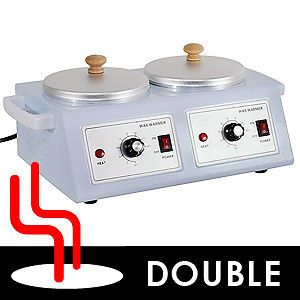 Professional Electric Double Pot Wax Warmer Heater Dual Pro Salon Hot
