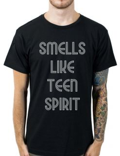 TEEN SPIRIT T Shirt, All Sizes Colours, great KURT COBAIN NIRVANA