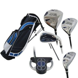 JUNIOR GOLF CLUB SET TEENAGER RIGHT HAND IRONS PUTTER COMPLETE SET