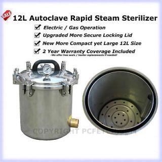 Newly listed ★12L Portable Autoclave Steam Sterilizer Tattoo Dental
