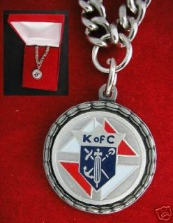 of C Silver Medal & Chain 3rd Degree Knights Columbus