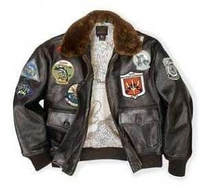 AVIREX COCKPIT G1 TOP GUN FLIGHT JACKET MOUTON FUR NWT LG SZS XS 4XL
