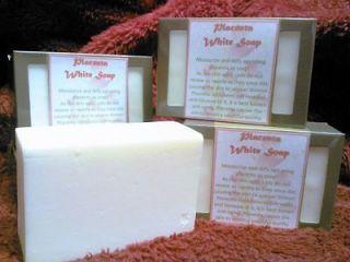 PLACENTA WHITE SOAP SKIN MOISTURIZER ANTI AGING W/ PAPAYA EXTRACT