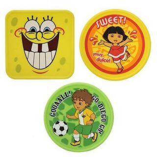 Nickelodeon Reusable Ice Packs Dora Diego & Spongebob