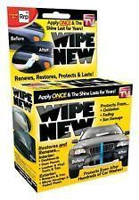 Newly listed Wipe New, Complete Vehicle Renewal and Restoration Kit