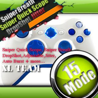 RAPID FIRE MODDED WIRELESS CONTROLLER GOW 3 BLACK OPS JITTER DROP SHOT