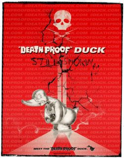 Death Proof /Convoy Duck Poster Limited First Edition #2 of 50 Framed