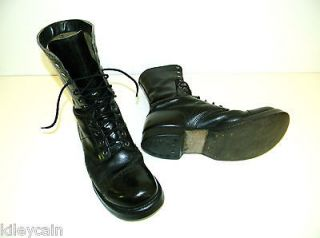 Vintage 1940s Corcoran JUMP BOOTS Split Sole Made in USA Mass. Size 9