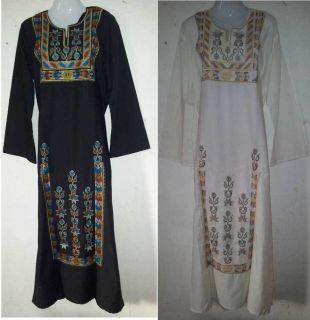 Desert Bedouin Women Custome Caftan Kaftan Jilbab Women Dresses