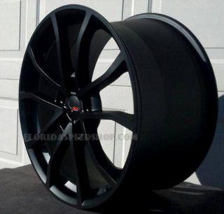 Corvette Satin Black Centennial Cup Style Wheels 18/19 Combo C6