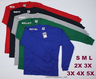 New Mens Thermal Shirts Long Sleeve T Color Big Size