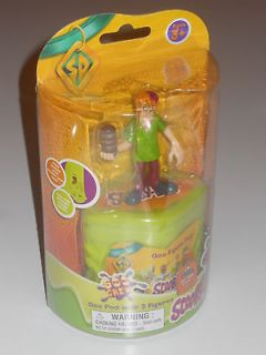 Scooby Doo Crew Goo Pod with 2 figures SHAGGY and a mystery figure