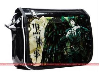 Black Bulter Shoulder Bag Anime Kuroshitsuji School Bag Cos Fans Bag