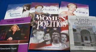 Women Biographies +6 FREE Harriet Tubman Katie Couric Queen Elizabeth