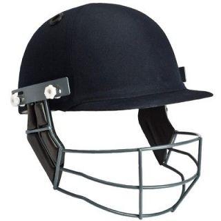 Masuri Steel Grill Cricket Helmet Junior 54 57cms Navy Blue   NEW in