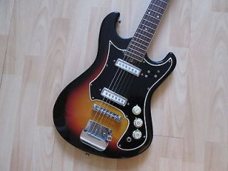 Teisco/Kingston solid body electric guitar   sixties and with original