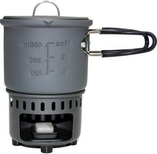 Solid Fuel Stove CS585HA Aluminium 585 ml Cookset Camping Cook Stove