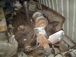 FORD FLATHEAD V8 ENGINE CRANKS OVER & HAS COMPRESSION