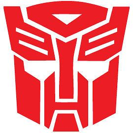 Autobot Sticker Vinyl Decal Choose a Color Transformers movie star
