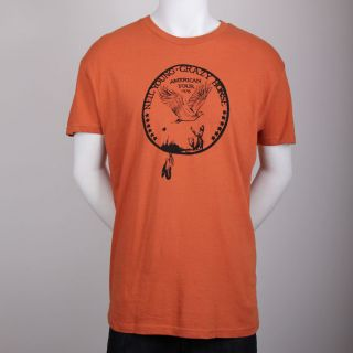 NEIL YOUNG & CRAZY HORSE 1976 Tour Burnt ORANGE T Shirt BRAND NEW IN
