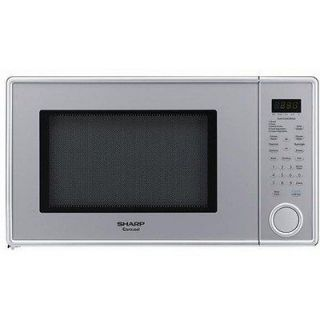 Sharp 1.3 cu ft 1000W Microwave Oven , Pearl Silver R 409YV