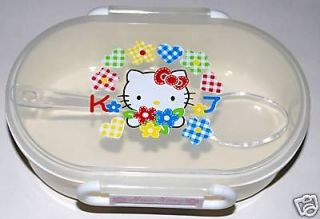 Girl Hello Kitty Lunch Case Box Microwave Storage Snack