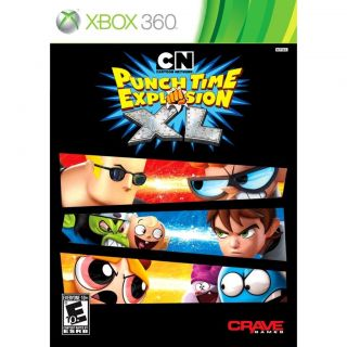 Wii Cartoon Network Punch Time Explosion XL NEW Sealed NTSC N & S