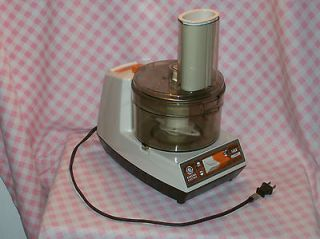 Vintage GE Food Processor 300 Watts D2FP1B General Electric USA