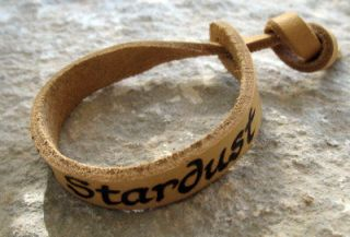 GREAT IDEA FOR YOUR LOVE ! CUSTOM ANY NAME ON LEATHER BRACELET