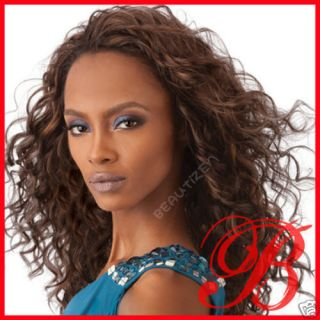 Outre Quick Weave Long Curly Half Wig MONICA