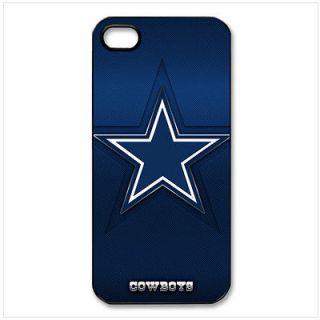 Dallas Cowboys on iPhone 5 Case Back Cover Hard Plastic Black 01228