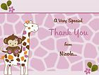 24 Cocalo Jacana Animals Baby Shower Thank You Cards PERSONALIZED
