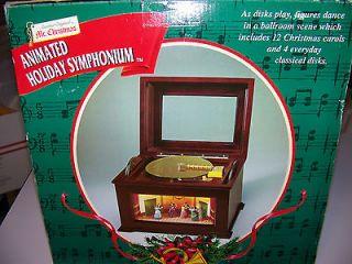 MR. CHRISTMAS ANIMATED HOLIDAY SYMPHONIUM WITH BALLROOM DANCERS