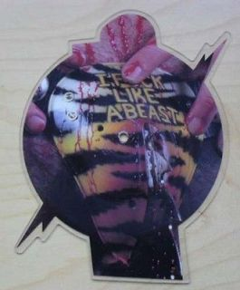WASP ANIMAL SHAPED PIC DISC RARE COD PIECE SHEPED WITH SHOW NO MERCY
